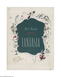 Fantasia (RKO, 1940) Program (Multiple Pages). This is a vintage, original program for Walt Disney's animated masterpiec...