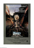 """Movie Posters:Animated, Heavy Metal (Columbia, 1981) One Sheet (27"""" X 41""""). This is avintage, theater used poster for this animation adventure that..."""