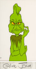 Animation Art:Color Model, Dr. Seuss' How the Grinch Stole Christmas Grinch Color ModelCel (MGM, 1966)....