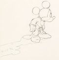 Animation Art:Production Drawing, Fantasia Mickey Mouse as the Sorcerer's Apprentice Animation Drawing (Walt Disney, 1940). ...