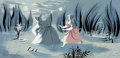 Animation Art:Concept Art, Cinderella Concept Painting by Mary Blair Original Art (WaltDisney, 1950)....