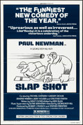 "Movie Posters:Sports, Slap Shot (Universal, 1977). Folded, Very Fine. One Sheet (27"" X 41"") Style B. Sports.. ..."