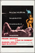 """Movie Posters:Crime, Lady in Cement & Other Lot (20th Century Fox, 1968). One Sheets(2) (27"""" X 41""""), Lobby Card Set of 8 (11"""" X 14""""), & C..."""