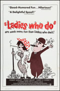 Movie Posters:Comedy, Ladies Who Do & Other Lot (Continental, 1963). One...