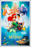 "Movie Posters:Animation, The Little Mermaid (Buena Vista, 1989). One Sheet (27"" X 41""). DS, Bill Morrison Artwork. Animation.. ..."
