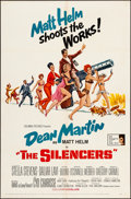 "Movie Posters:Action, The Silencers (Columbia, 1966). One Sheet (27"" X 41""). Robert McGinnis Artwork. Action.. ..."