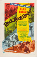 """Movie Posters:Rock and Roll, Rock, Rock, Rock (DCA, 1956). One Sheet (27"""" X 41""""). Rock and Roll.. ..."""