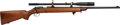 Long Guns:Bolt Action, Winchester Model 52 Bolt Action Rifle with Telescopic Sight....