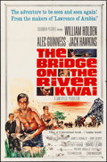 "Movie Posters:War, The Bridge on the River Kwai (Columbia, R-1963). Folded, Fine. One Sheet (27"" X 41""). War.. ..."