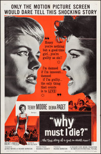 """Why Must I Die? & Other Lot (American International, 1960). One Sheets (2) (27"""" X 41""""). Crime. ... (Total:..."""