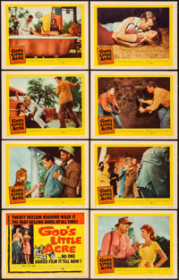 "God's Little Acre & Other Lot (United Artists, 1957). Lobby Card Sets of 8 (2 sets) (11"" X 14""). Drama..."