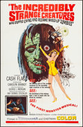Movie Posters:Horror, The Incredibly Strange Creatures Who Stopped Living and Be...