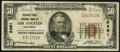 National Bank Notes:California, Los Angeles, CA - $50 1929 Ty. 1 Security-First NB Ch. # 2491 Fine.. ...