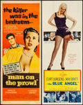 "Movie Posters:Drama, The Blue Angel & Other Lot (20th Century Fox, 1959). Inserts (2) (14"" X 36""). Drama.. ... (Total: 2 Items)"