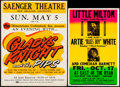 Movie Posters:Musical, Gladys Knight and the Pips at Saenger Theatre & Other Lot ...