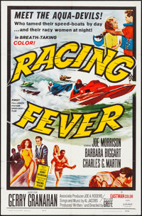 """Racing Fever (Allied Artists, 1964). Folded, Very Fine-. One Sheet (27"""" X 41""""). Sports"""