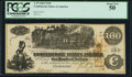 Confederate Notes:1862 Issues, T39 $100 1862 PF-9 Cr. 291 PCGS About New 50.. ...