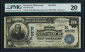 National Bank Notes:Wisconsin, Seymour, WI - $10 1902 Plain Back Fr. 624 The First NB Ch. # (M)6575 PMG Very Fine 20.. ...