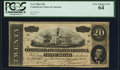 Confederate Notes:1864 Issues, T67 $20 1864 PF-33 Cr. 533 PCGS Very Choice New 64.. ...