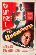 Movie Posters:Film Noir, The Unsuspected (Warner Brothers, 1947). Trimmed O...
