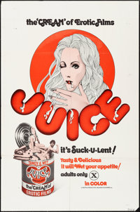 """Juice & Other Lot (Distribpix, 1973). One Sheets (2) (27"""" X 41""""). Adult. ... (Total: 2 Items)"""