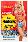 "Movie Posters:Adult, The Playmates in Deep Vision 3-D (Phantasy, 1973). One Sheet (27"" X 41""). Adult.. ..."