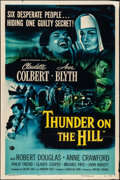 """Movie Posters:Drama, Thunder on the Hill & Other Lot (Universal International,1951). One Sheets (2) (27"""" X 40.5""""). Drama.. ... (Total: ..."""