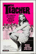 """Movie Posters:Sexploitation, The Teacher & Other Lot (Crown International, 1974). One Sheets(2) (27"""" X 41""""). Sexploitation.. ... (Total: 2 Items)"""