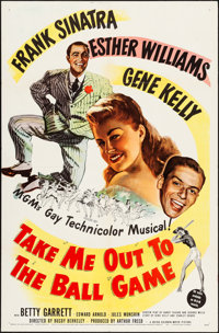 """Take Me Out to the Ball Game (MGM, 1949). One Sheet (27"""" X 41""""). Musical"""