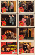 """Movie Posters:Thriller, The Power of the Whistler (Columbia, 1945). Lobby Card Set of 8(11"""" X 14""""). From the Collection of Frank Buxton, of which...(Total: 8 Items)"""