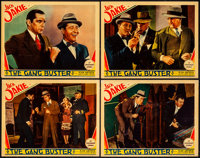 "The Gang Buster (Paramount, 1931). Lobby Cards (4) (11"" X 14""). From the Collection of Frank Buxton, of which..."