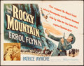 Movie Posters:Western, Rocky Mountain (Warner Brothers, 1950). Half Sheet...