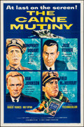 "Movie Posters:War, The Caine Mutiny (Columbia, 1954). One Sheet (27"" ..."