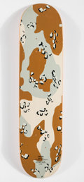 Prints & Multiples, Supreme . Desert Camo, 1998. Screenprint in colors on skate deck. 32 x 8 inches (81.3 x 20.3 cm). Produced by Supreme, N...