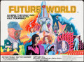 "Movie Posters:Science Fiction, Futureworld (American International, 1976). Folded, Fine/Very Fine.British Quad (30"" X 40""). Science Fiction.. ..."