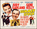 "Movie Posters:Musical, Summer Stock (MGM, 1950). Half Sheet (22"" X 28"") Style B. Musical.. ..."