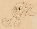 Animation Art:Production Drawing, Pinocchio Figaro Animation Drawing (Walt Disney, 1940)....