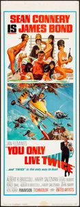 """Movie Posters:James Bond, You Only Live Twice (United Artists, 1967). Insert (14"""" X 36"""").Frank McCarthy with Robert McGinnis Artwork. James Bond.. ..."""