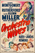 """Movie Posters:Musical, Orchestra Wives (20th Century Fox, 1942). One Sheet (27"""" X 41""""). Musical.. ..."""