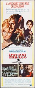 """Movie Posters:Drama, Doctor Zhivago (MGM, 1965). Insert (14"""" X 36""""). Ho..."""