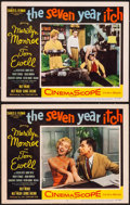 """Movie Posters:Comedy, The Seven Year Itch (20th Century Fox, 1955). Lobby Cards (2) (11"""" X 14""""). Comedy.. ... (Total: 2 Items)"""