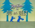 "Animation Art:Production Cel, The Yogi Bear Show ""Do or Diet"" Title Production Cel (Hanna-Barbera, 1961)...."