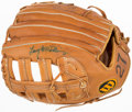 Autographs:Others, Larry McWilliams Signed Glove....