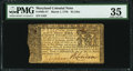 Colonial Notes:Maryland, Maryland March 1, 1770 $4 PMG Choice Very Fine 35.. ...