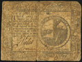 Continental Currency February 26, 1777 $2 Very Good-Fine