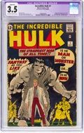 Silver Age (1956-1969):Superhero, The Incredible Hulk #1 (Marvel, 1962) CGC Apparent VG- 3.5 Off-white to white pages....
