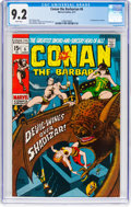 Bronze Age (1970-1979):Adventure, Conan the Barbarian #6 (Marvel, 1971) CGC NM- 9.2 White pages....