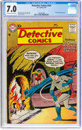 Silver Age (1956-1969):Superhero, Detective Comics #247 (DC, 1957) CGC FN/VF 7.0 Off-white to whitepages....