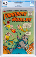Silver Age (1956-1969):Science Fiction, Forbidden Worlds #46 (ACG, 1956) CGC VF/NM 9.0 Off-white to whitepages....