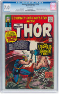 Silver Age (1956-1969):Superhero, Journey Into Mystery #114 (Marvel, 1965) CGC FN/VF 7.0 Off-whitepages....